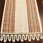 Для дома и интерьера handmade. Livemaster - original item Kitchen towel linen Icicles. Handmade.