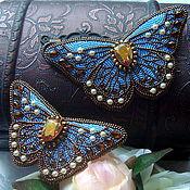 Украшения ручной работы. Ярмарка Мастеров - ручная работа Небесные бабочки. Handmade.