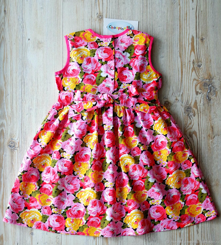 Платье детское без руковов