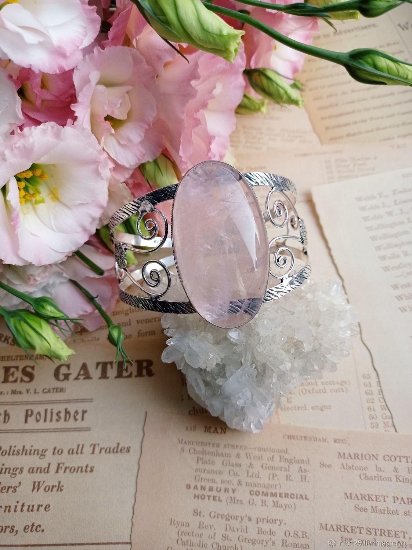 Bracelet with rose quartz, Amulet, Krasnodar,  Фото №1