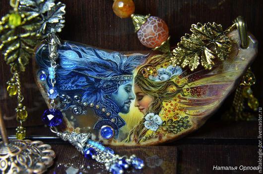 Кулоны, подвески ручной работы. Ярмарка Мастеров - ручная работа. Купить ,,Объединение моей мечты,, (ОТЛОЖЕНО). Handmade. Разноцветный