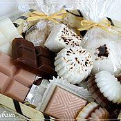 Косметика ручной работы. Ярмарка Мастеров - ручная работа Подарочный набор Шоколад XXL на 8 марта, 14 февраля, 23 февраля. Handmade.