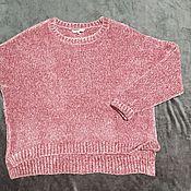 Винтажная одежда ручной работы. Ярмарка Мастеров - ручная работа Джемпер, пуловер, велюровый (Германия). Handmade.