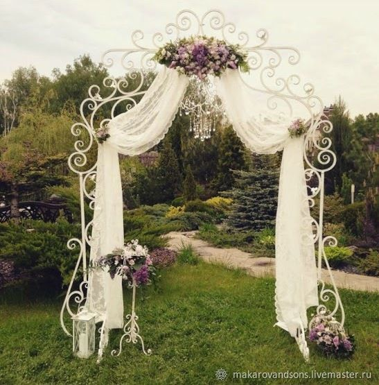 Wedding Arch Wrought Iron Doll Makarov Sons My Livemaster A