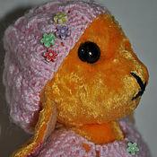 Куклы и игрушки ручной работы. Ярмарка Мастеров - ручная работа Жолтый зайчик. Handmade.