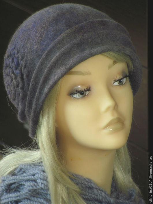 """Шляпы ручной работы. Ярмарка Мастеров - ручная работа. Купить Шляпка """"Melancholy"""". Handmade. Серый, шерсть"""