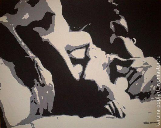 Люди, ручной работы. Ярмарка Мастеров - ручная работа. Купить Картина в стиле Поп-Арт. Handmade. Картина, картина в подарок