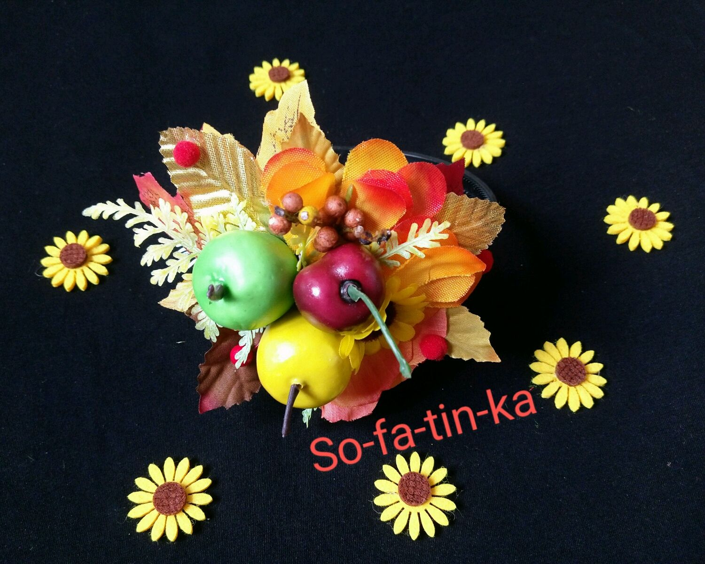 Осенние ободки венки с листьями, Ободки, Омск,  Фото №1