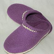 Обувь ручной работы handmade. Livemaster - original item Slippers mules wool Felt handmade. Handmade.