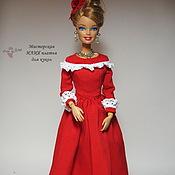 Куклы и игрушки ручной работы. Ярмарка Мастеров - ручная работа Кукольное платье Джулия. Handmade.