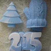 Подарки к праздникам handmade. Livemaster - original item 2016 new year Gift set soap mitten, a Christmas tree and 2015. Handmade.