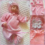 Работы для детей, handmade. Livemaster - original item Set soft pink. Handmade.