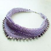 "Украшения handmade. Livemaster - original item Necklace ""blooming lilacs"". Handmade."