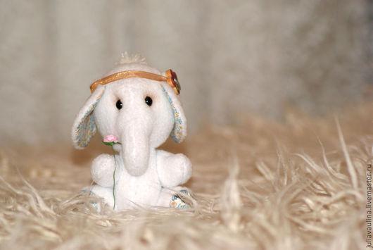 Игрушки животные, ручной работы. Ярмарка Мастеров - ручная работа. Купить Слоник Додо. Handmade. Слоник, слон