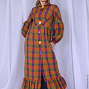 Одежда handmade. Livemaster - original item Light dress-coat,