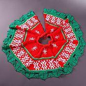 Подарки к праздникам ручной работы. Ярмарка Мастеров - ручная работа Юбочка для новогодней елки. Handmade.