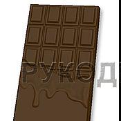 Материалы для творчества ручной работы. Ярмарка Мастеров - ручная работа Фома пластиковая для шоколада. Handmade.