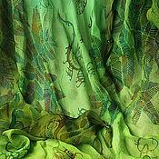 Аксессуары handmade. Livemaster - original item Batik scarf-Bacchus