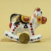 Сувениры и подарки handmade. Livemaster - original item Cow Dumka rocking chair porcelain. Handmade.