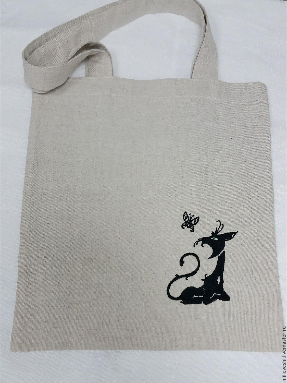 Ecosumy. Series Black cat, Shopper, Ivanovo,  Фото №1
