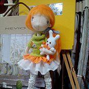 """Куклы и игрушки ручной работы. Ярмарка Мастеров - ручная работа Кукла интерьерная """"Лисичка"""". Handmade."""