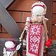 """Народные куклы ручной работы. Ярмарка Мастеров - ручная работа. Купить Кукла народная """"Мамушка"""".. Handmade. Бежевый, обережная кукла"""