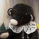 Мишки Тедди ручной работы. Ярмарка Мастеров - ручная работа. Купить Пафнутий. Handmade. Коричневый, мишка ручной работы, опилки
