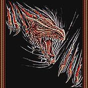 """Материалы для творчества ручной работы. Ярмарка Мастеров - ручная работа Набор для вышивания бисером """"ДРАКОН"""". Handmade."""
