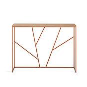 Столы ручной работы. Ярмарка Мастеров - ручная работа Консоль Ohara copper темный дуб. Handmade.