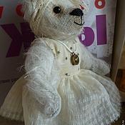 Куклы и игрушки ручной работы. Ярмарка Мастеров - ручная работа Мишка Роза. Handmade.
