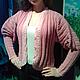 """Кофты и свитера ручной работы. Ярмарка Мастеров - ручная работа. Купить Кофта """"Розовое облако"""". Handmade. Розовый, одежда для девушек"""