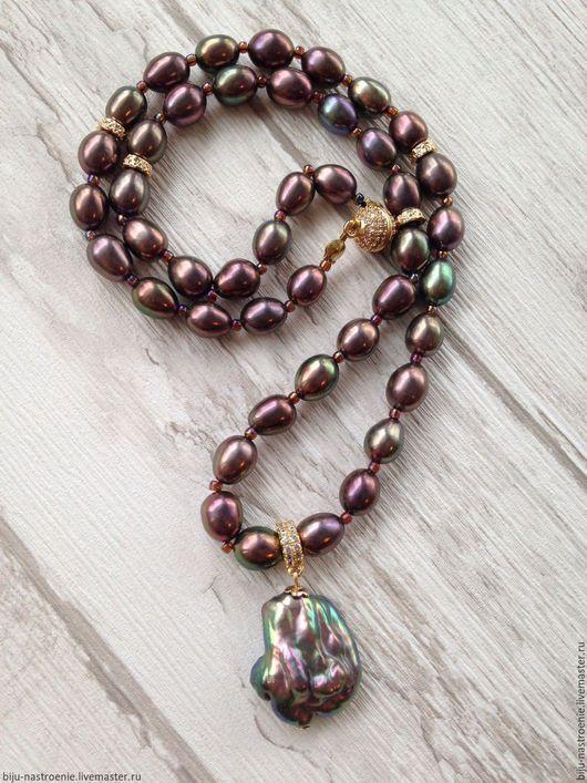 Колье, бусы ручной работы. Ярмарка Мастеров - ручная работа. Купить Ожерелье Люкс. Handmade. Комбинированный, подарок на 8 марта