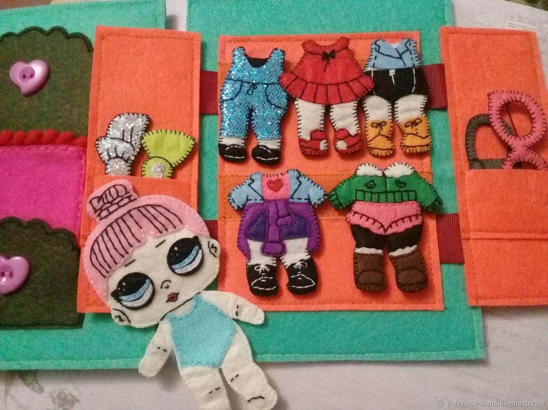 Кукла из фетра ЛОЛ с одеждой – заказать на Ярмарке ...
