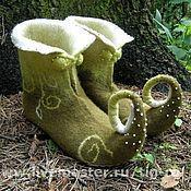 """Обувь ручной работы. Ярмарка Мастеров - ручная работа Эльфо-обувь """"Лесной эльф"""". Handmade."""