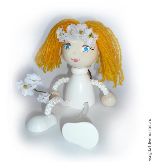 """Человечки ручной работы. Ярмарка Мастеров - ручная работа. Купить Игрушка """"Невеста"""" на пружинке. Handmade. Игрушка для детей, игрушка"""