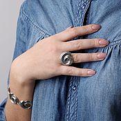 Украшения handmade. Livemaster - original item Ring of Aura water. Handmade.