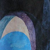 """Картины и панно ручной работы. Ярмарка Мастеров - ручная работа """"Арка"""" картина город пейзаж Венеция абстракция. Handmade."""