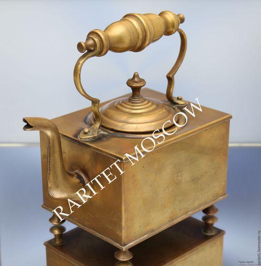 Винтажная посуда. Ярмарка Мастеров - ручная работа. Купить РАРИТЕТИЩЕ Чайник антикварный латунь Англия 1. Handmade. Англия, медь