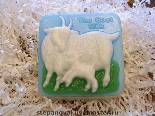 Мыло ручной работы. Ярмарка Мастеров - ручная работа. Купить Мыло ручной работы-Козье молоко. Handmade. Мыло