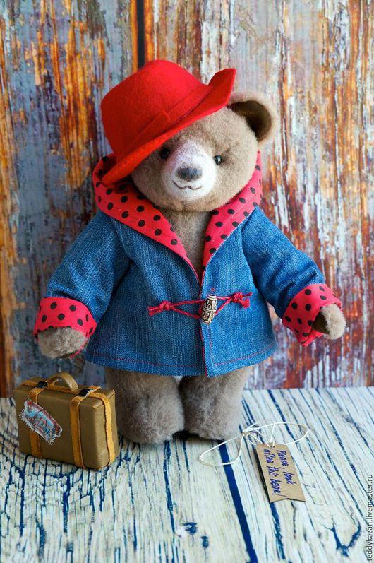 Мишки Тедди ручной работы. Ярмарка Мастеров - ручная работа. Купить Тедди медвежонок Падди 2. Handmade. Коричневый, падди