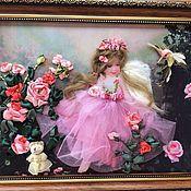 Картины и панно ручной работы. Ярмарка Мастеров - ручная работа Маленькая феечка. Handmade.