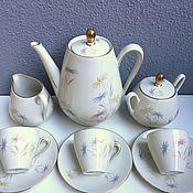 Винтаж ручной работы. Ярмарка Мастеров - ручная работа Кофейный сервиз на 6 персон WINTERLING. Handmade.