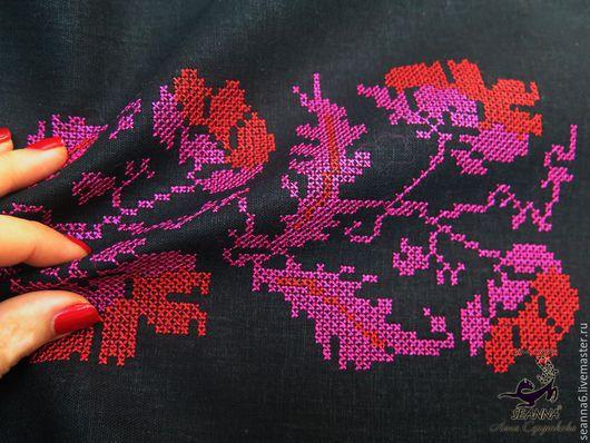 Животные ручной работы. Ярмарка Мастеров - ручная работа. Купить Вышивка крестика в украинском стиле - для вышиванки, картины, полотенц. Handmade.