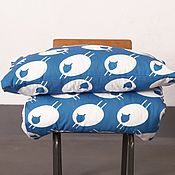 Для дома и интерьера ручной работы. Ярмарка Мастеров - ручная работа Постельное белье с овечками в скандинавском стиле. Handmade.