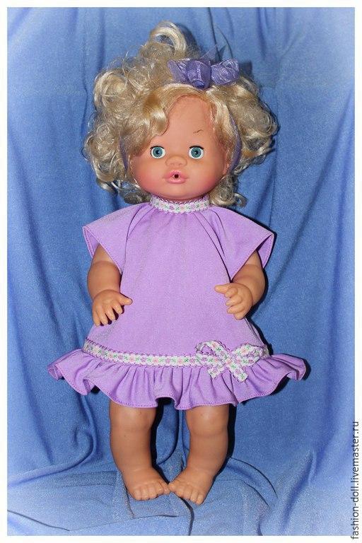 Одежда для кукол ручной работы. Ярмарка Мастеров - ручная работа. Купить Набор одежды для куклы пупса 40-45 см.. Handmade.