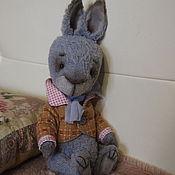 Куклы и игрушки ручной работы. Ярмарка Мастеров - ручная работа Кролик тедди Месье Жан. Handmade.