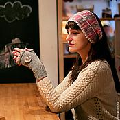 Аксессуары ручной работы. Ярмарка Мастеров - ручная работа Повязка для головы вязаная. Handmade.