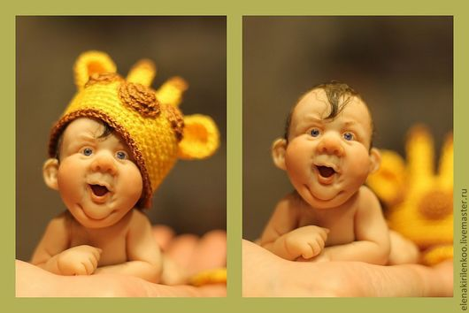 Куклы-младенцы и reborn ручной работы. Ярмарка Мастеров - ручная работа. Купить ЖираФФ!. Handmade. Желтый, prosculpt