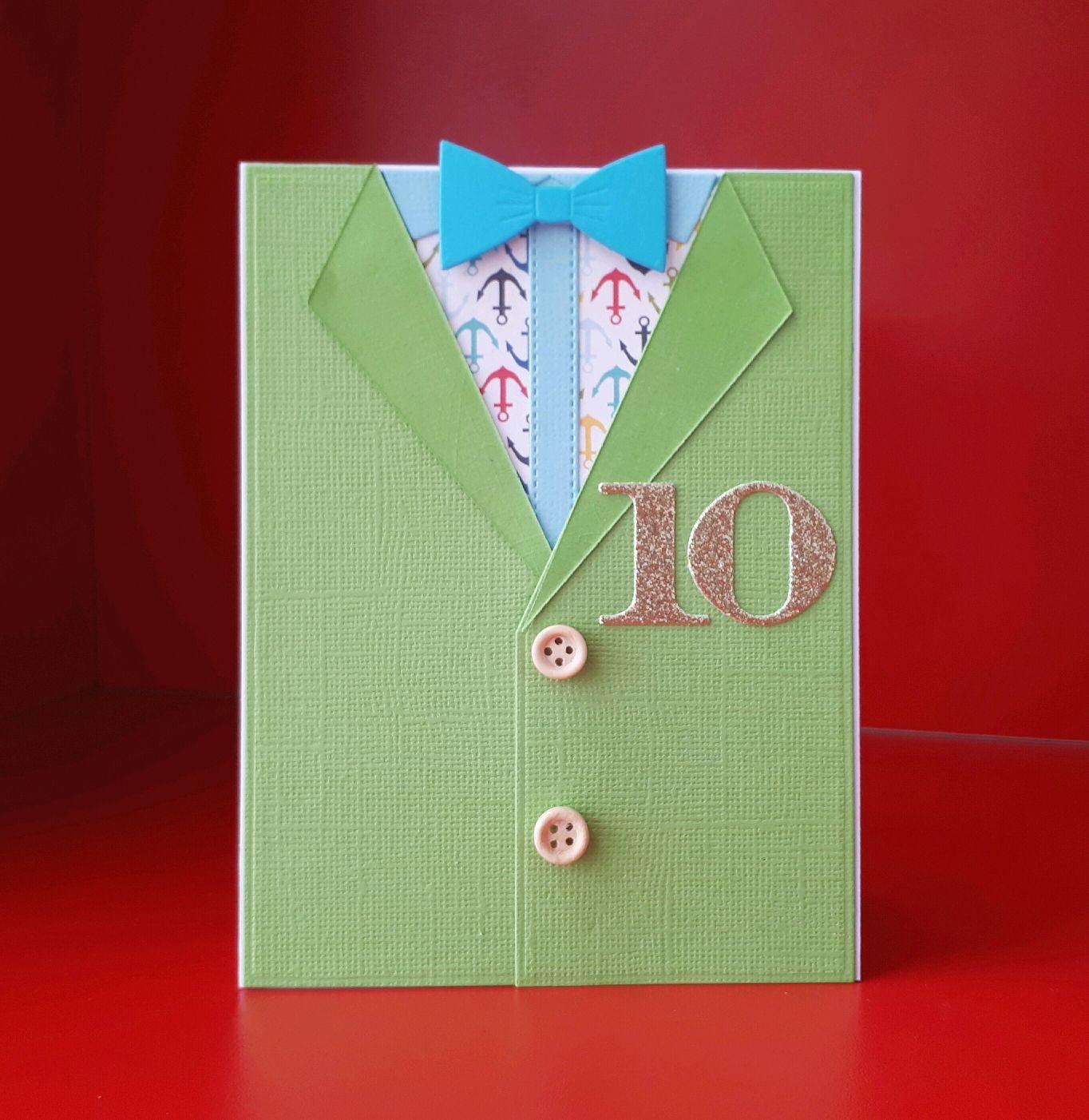 Как сделать открытка костюм, днем рождения женщине