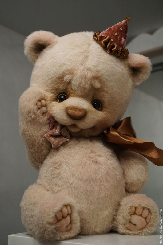 Мишки Тедди ручной работы. Ярмарка Мастеров - ручная работа. Купить Sweety. Handmade. Бежевый, коллекционный мишка, макарова виктория